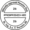 Officially approved Porsche Club 26